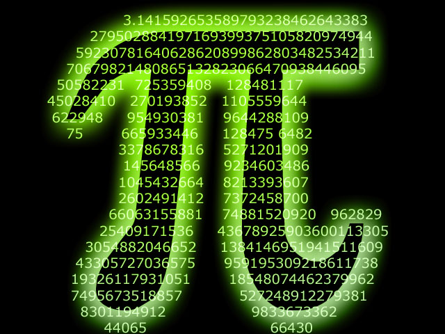 Pi day for Pi character